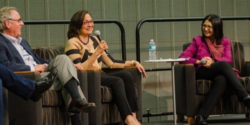 Markable Solutions Founder and CEO, Reshma Nigam Speaks at her alma mater San Jose State University Event